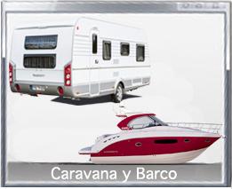 Caravana y barco