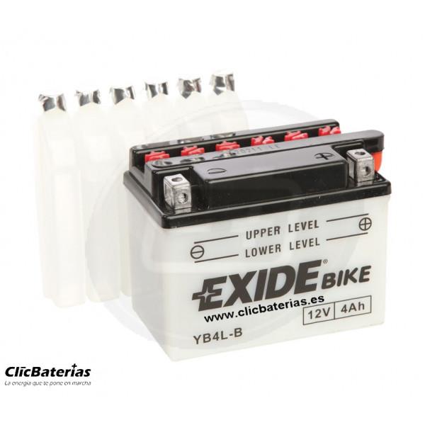Batería YB4L-B para moto EXIDE Conventional