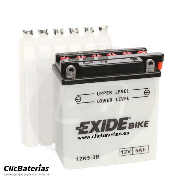 Batería 12N5-3B para moto EXIDE Conventional