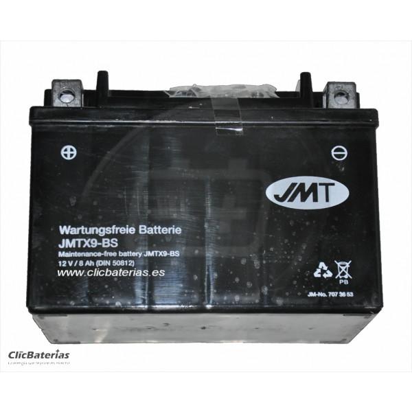 Batería moto JMT YTX9-BS AGM