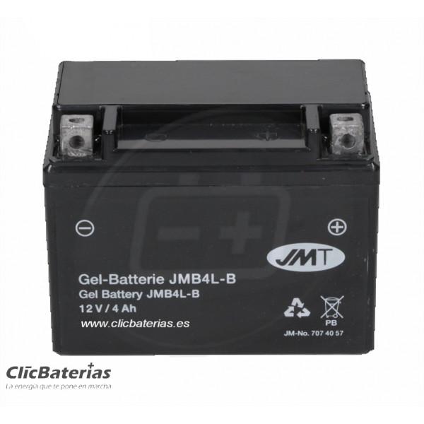Batería moto JMT YB4L-B GEL