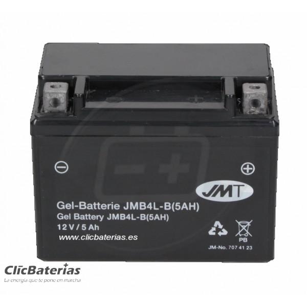 Batería moto JMT YB4L-B 5Ah GEL