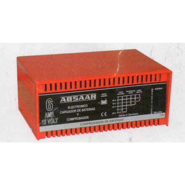 Cargador de Baterías Absaar BBA1206