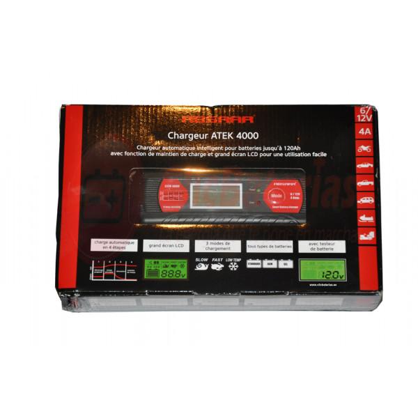Cargador de batería Absaar ATEK 4000