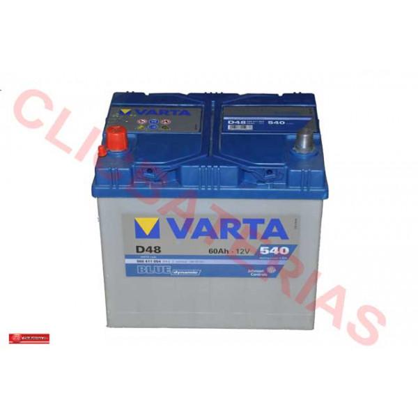 Batería Varta Blue Dynamic D48