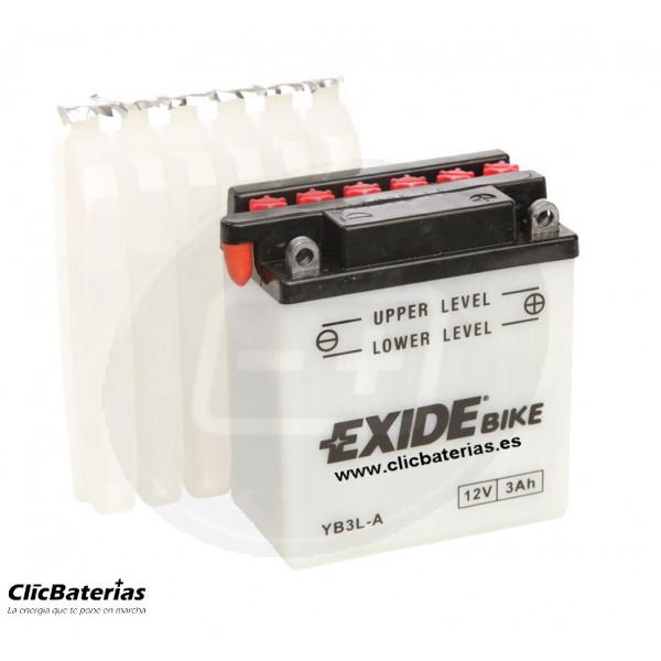 Batería YB3L-A para moto EXIDE Conventional