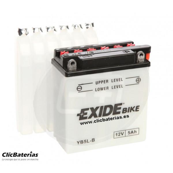 Batería YB5L-B para moto EXIDE Conventional