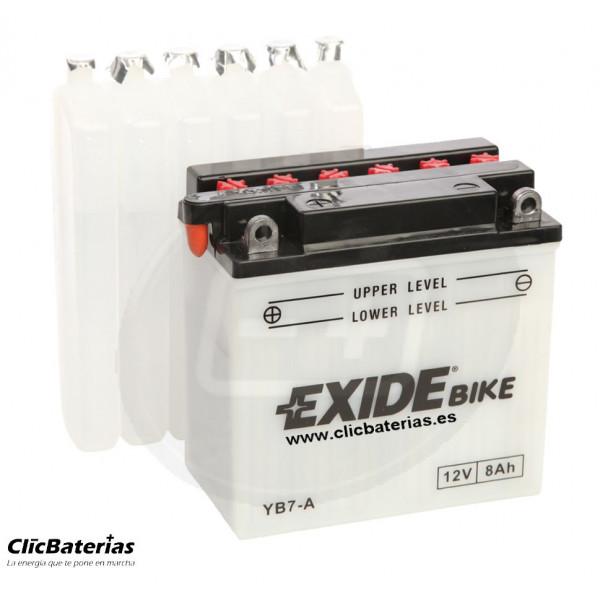 Batería YB7-A para moto EXIDE Conventional