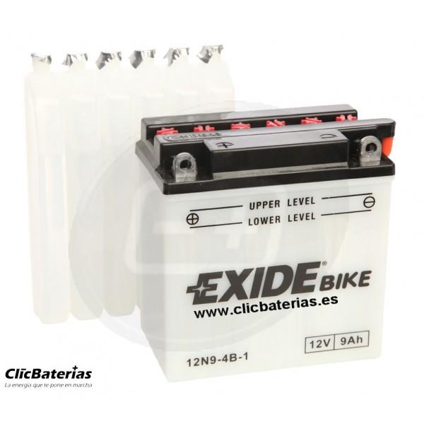 Batería 12N9-4B-1 para moto EXIDE Conventional