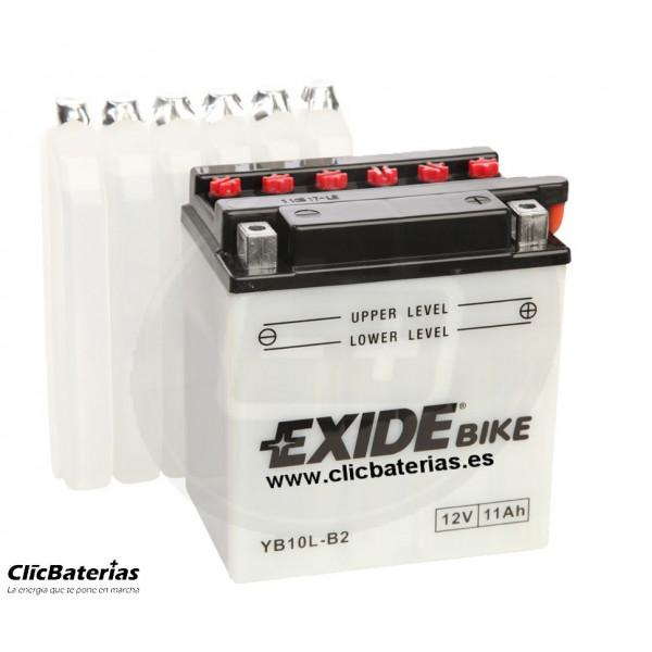 Batería YB10L-B2 para moto EXIDE Conventional