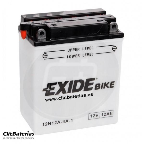 Batería 12N12A-4A-1 para moto EXIDE Conventional