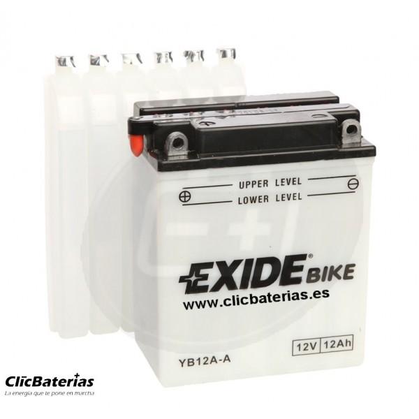 Batería YB12A-A para moto EXIDE Conventional