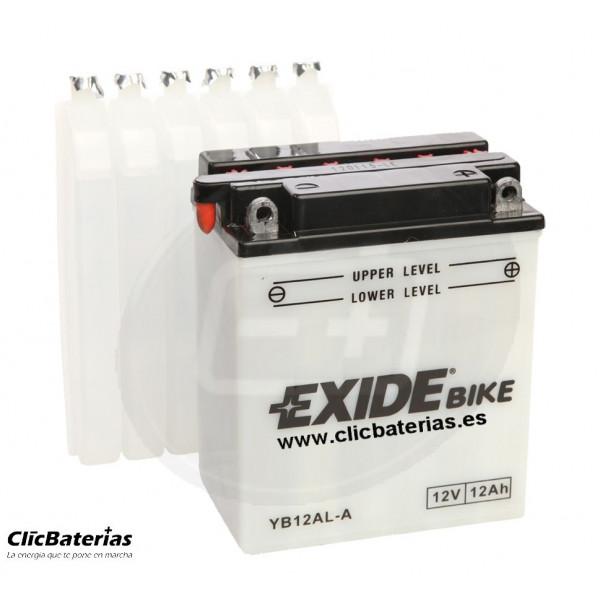 Batería YB12AL-A para moto EXIDE Conventional