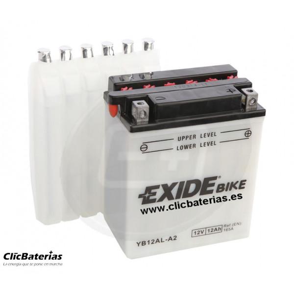 Batería YB12AL-A2 para moto EXIDE Conventional