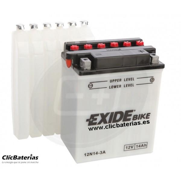 Batería 12N14-3A para moto EXIDE Conventional