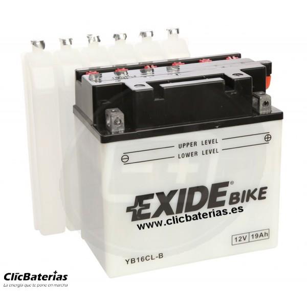 Batería YB16CL-B para moto EXIDE Conventional