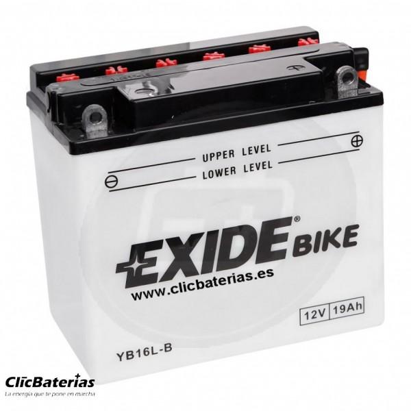 Batería YB16L-B para moto EXIDE Conventional