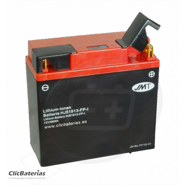 Batería HJT51913-FP para moto JMT LITIO