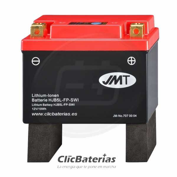 Batería HJB5L-FP para moto JMT LITIO