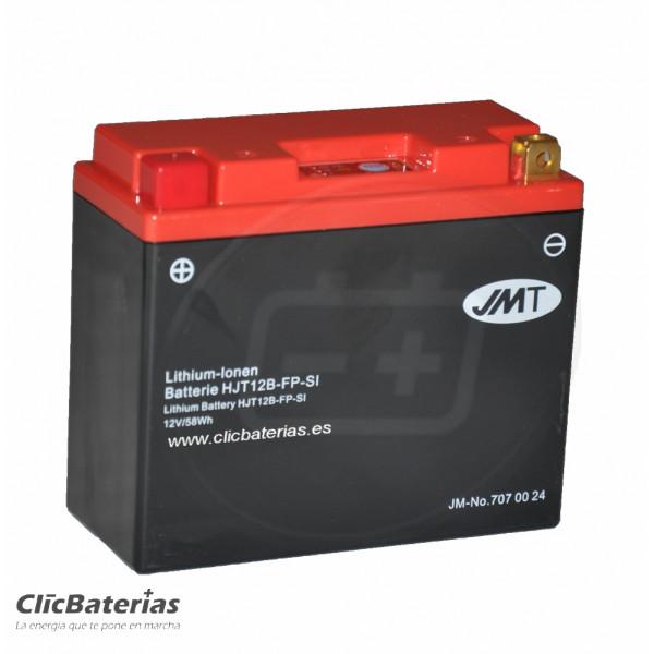 Batería HJT12B-FP para moto JMT LITIO