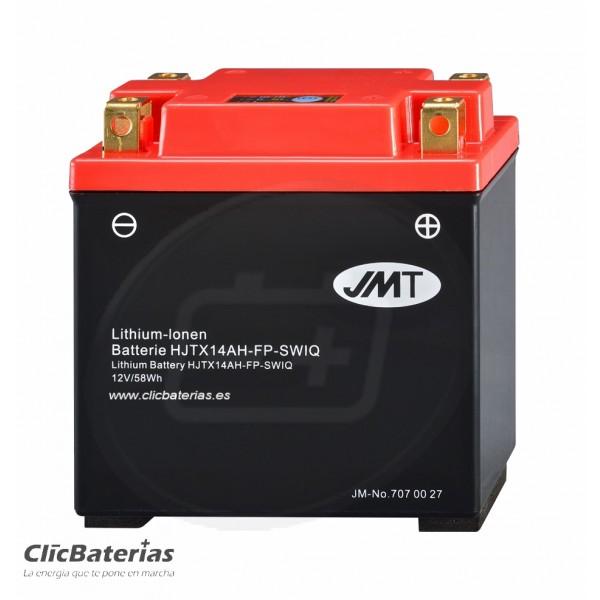Batería HJTX14AH-FP para moto JMT LITIO