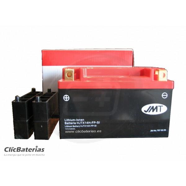 Batería HJTX14H-FP para moto JMT LITIO