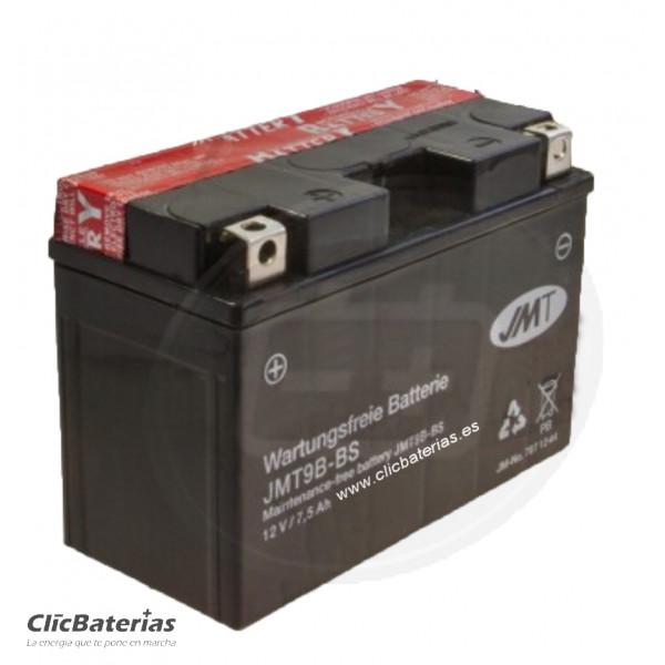 Batería YT9B-BS para moto JMT AGM