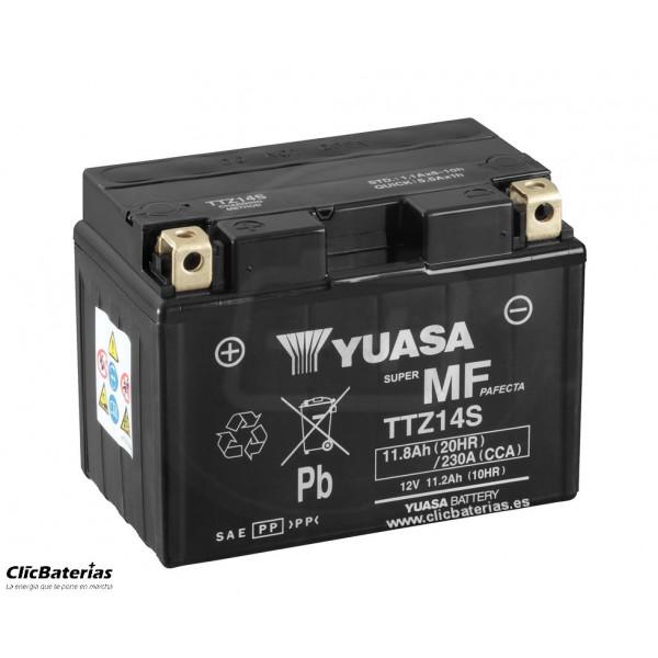 Batería TTZ14S-BS DRY para moto YUASA AGM