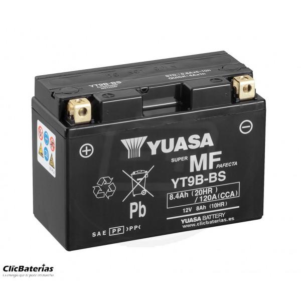 Batería YT9B-BS DRY para moto YUASA AGM