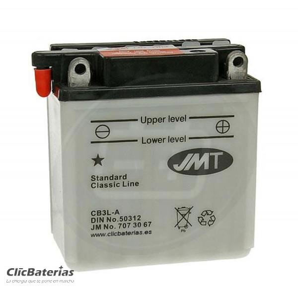 Batería YB3L-A de moto JMT