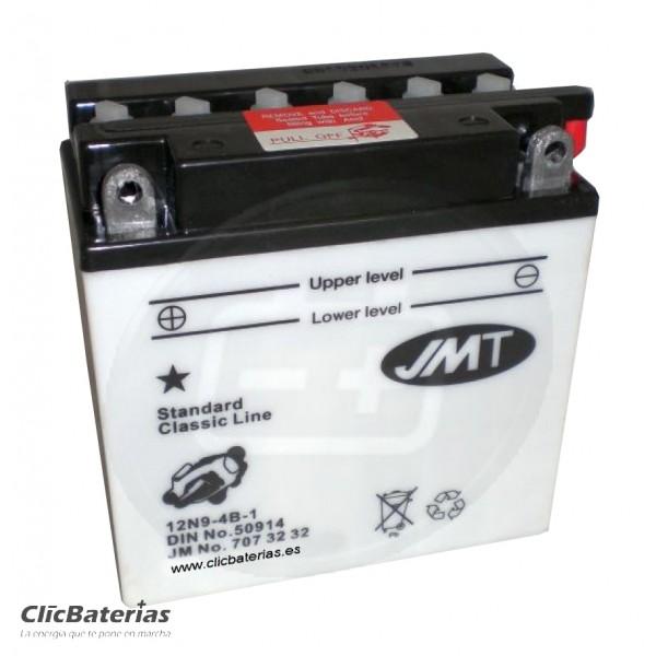 Batería 12N9-4B-1 de moto JMT