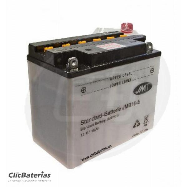 Batería YB16-B para moto JMT