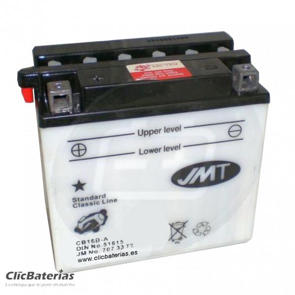 Batería YB16B-A / YB16B-A1 para moto JMT