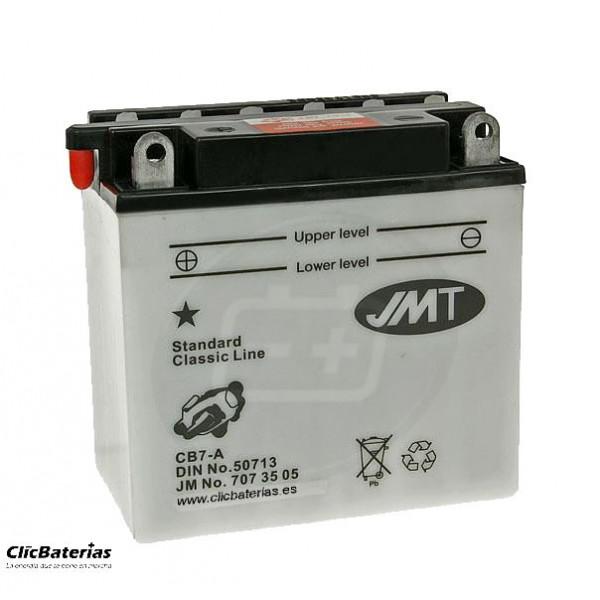 Batería YB7-A para moto JMT