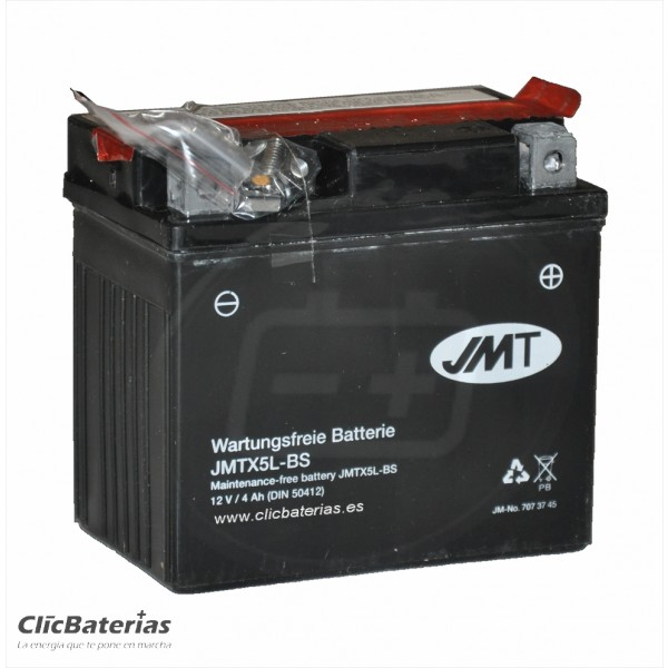 Batería YTX5L-BS para moto JMT AGM