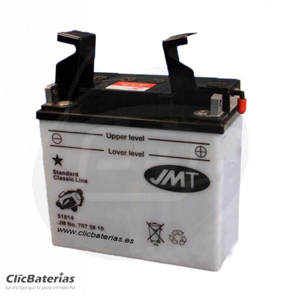 Batería 51814 para moto JMT