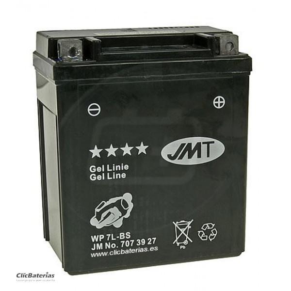 Batería YTX7L-BS para moto JMT GEL