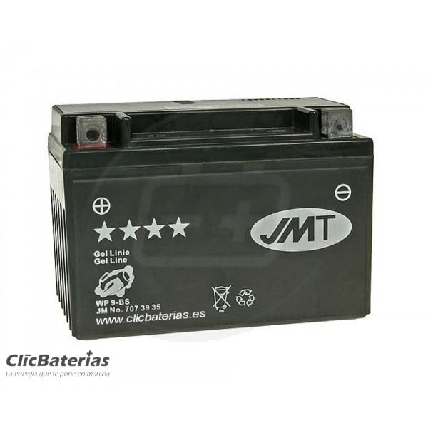Batería YTX9-BS para moto JMT GEL