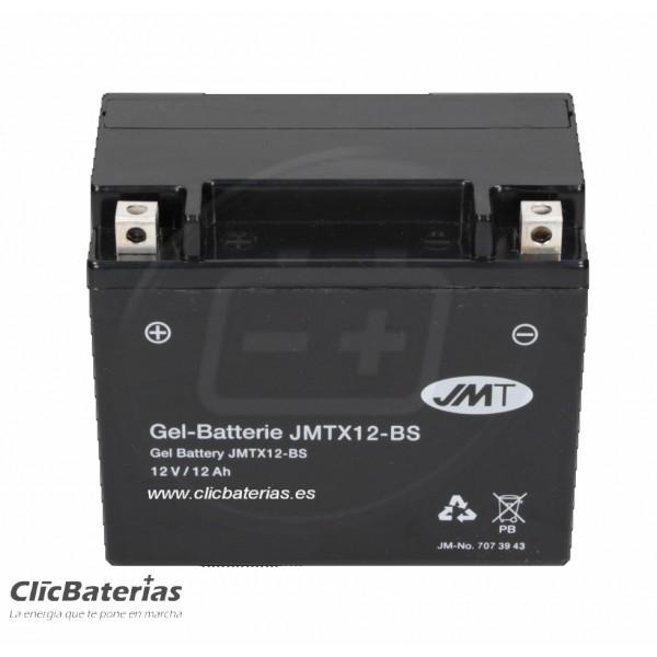 Batería YTX12-BS para moto JMT GEL