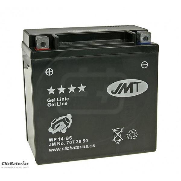 Batería YTX14-BS para moto JMT GEL