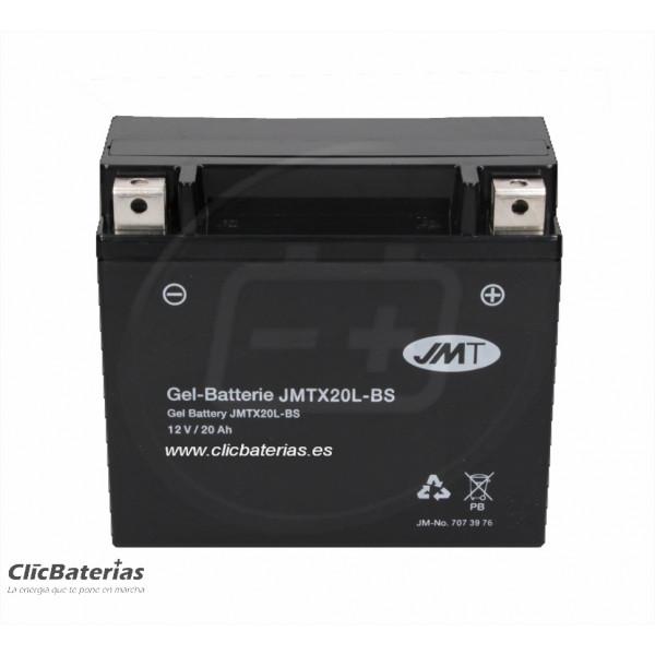 Batería YTX20L-BS para moto JMT GEL