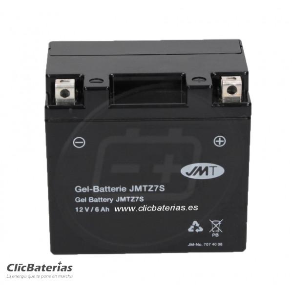 Batería YTZ7S para moto JMT GEL