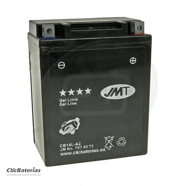 Batería YB14L-A2 para moto JMT GEL