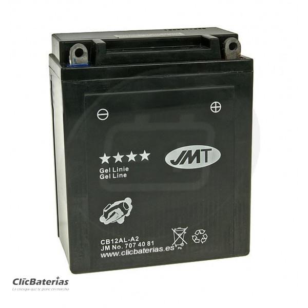 Batería YB12AL-A2 para moto JMT GEL