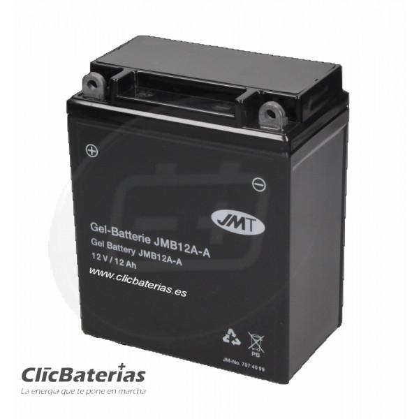 Batería YB12A-A para moto JMT GEL