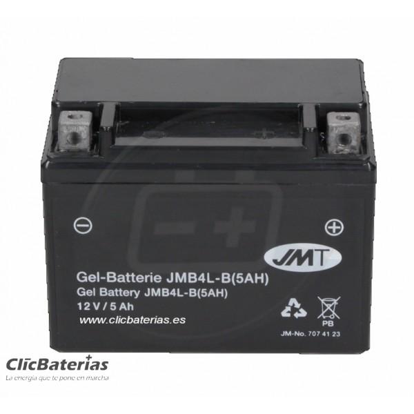Batería YB4L-B 5Ah para moto JMT GEL