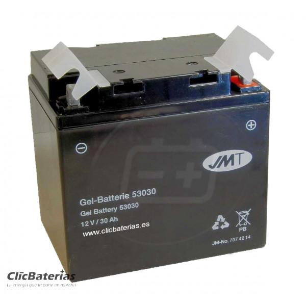 Batería 53030 para moto JMT GEL