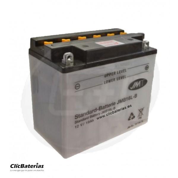 Batería YB16L-B para moto JMT