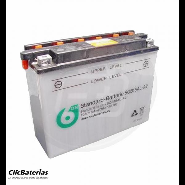 Batería YB16AL-A2 de moto 6-ON
