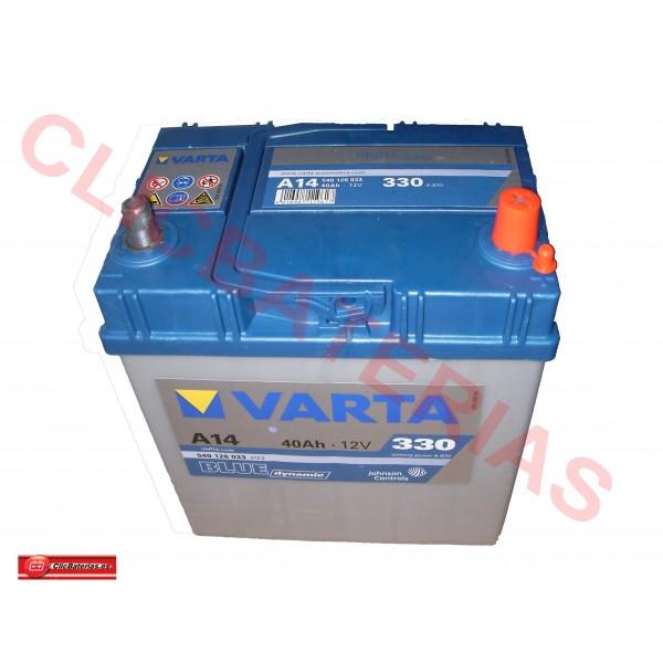 Varta Blue Dynamic A14 (Baterias coches)